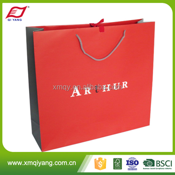 Wholesale small wedding gift paper bags with handles