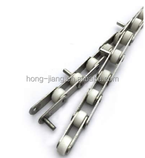 HL21-C Stainless steel 304/201chain with rollers for bucket elevator