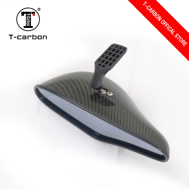 carbon fiber mirror universal car monitor