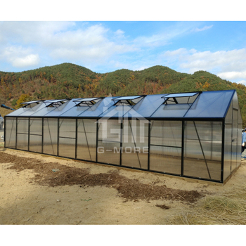 G-MORE Titan/Grange Series, 3M Width/10M length, Super Strong Premium Aluminum/10MM Polycarbonate Hobby Greenhouse(GM32310-G)