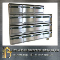 china supplier manufacturing locking office mailboxes , letter box
