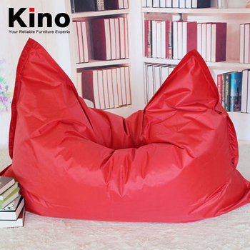 Simple Comfortable Lazy Bean Bag Large Square Beanbag Sofa Chairs Filling With Imported Epp