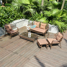 New Design Modern High Quality All Weather Outdoor Synthetic Poly Rattan Furniture