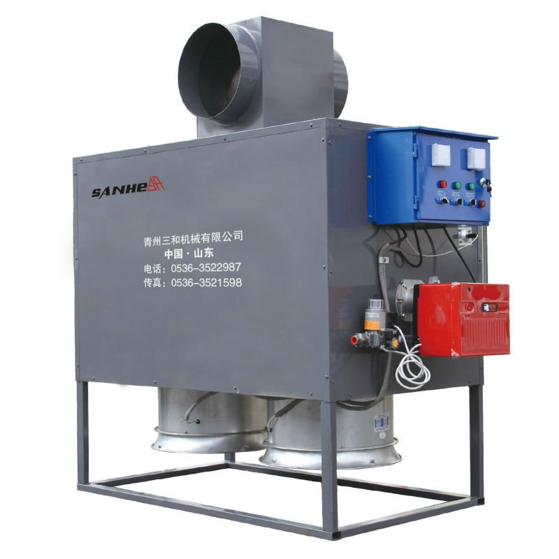 gas burning heating machine