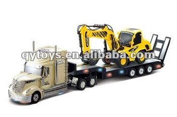 1:32 Rc Heavy Trailer With 1:20 Rc Truck Remote Control Truck Trailer Toys  - Buy Remote Control Truck Trailer Toys,Rc Trucks And Trailers,Rc Car
