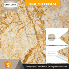 Low price cheap golden marble tiles block