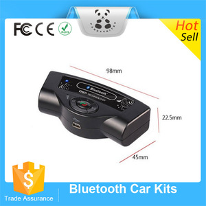 Universal Steering Wheel Hands-free Wireless Bluetooth Car Kit Speaker by AliBaba China Factory Supply