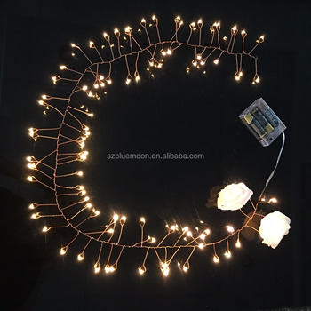 new year led battery operated christmas fireworks light