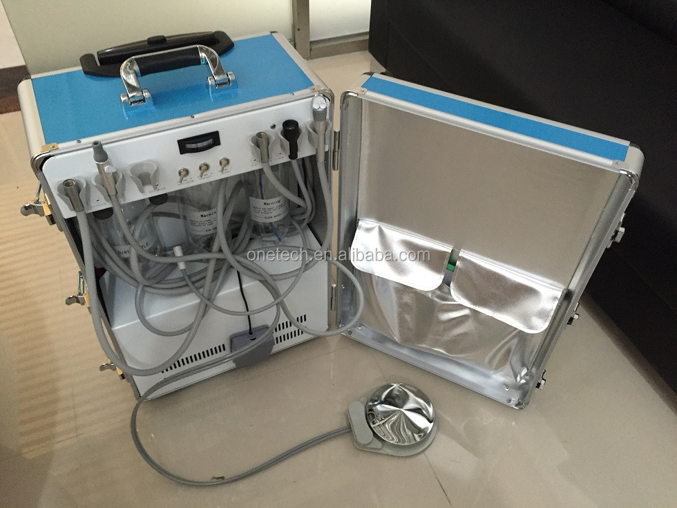 Portable dental unit with air compressor / Portable dental unit hot sale / Portable dental ultrasonic scaler D26