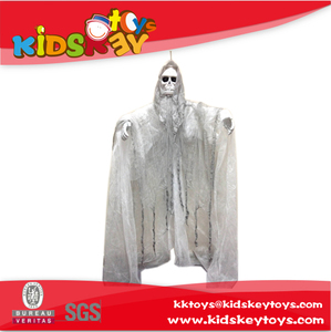 Rotation Halloween hanging decoration Props Prank Toy white spin ghost for halloween