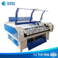 Computerized embroidery laser cutting machine mass production from china