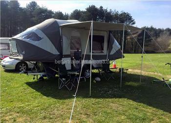 European Style Caravan Trailer Small Motorhome Off Road With Bike Rack Camper Trailer Buy Folding Camper Trailer Caravan Trailer Off Road Camper