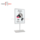 New design metal A3 poster display stand sign holder