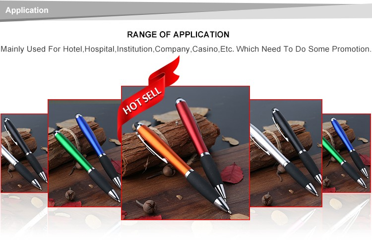 Custom  Business Promotion Creative Ballpoint Pen With Stylus