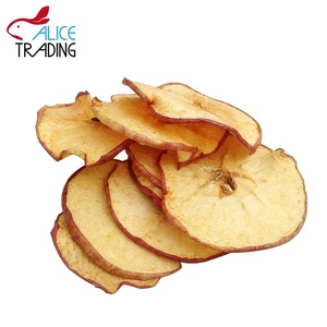 Chinese dehydrated fruits Dried apple slices/chips
