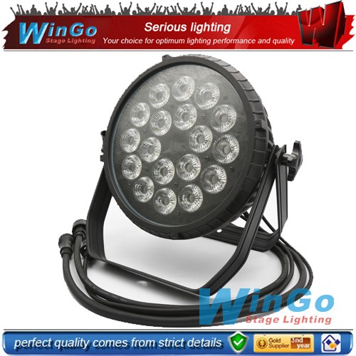 Cheap Price Waterproof Led Par Can 18leds 18w RGBWA+UV Outdoor Led Par Light