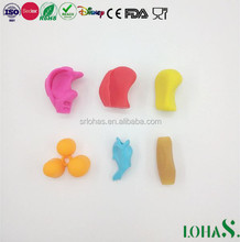 FDA ROHS silicone school soft pencil grips for hand-on learning kids