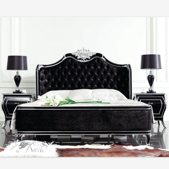 Royal Style Bed/spanish Style Beds/french Provincial Bedroom Furniture Bed  - Buy Spanish Style Beds,Royal Style Bed,French Provincial Bedroom ...