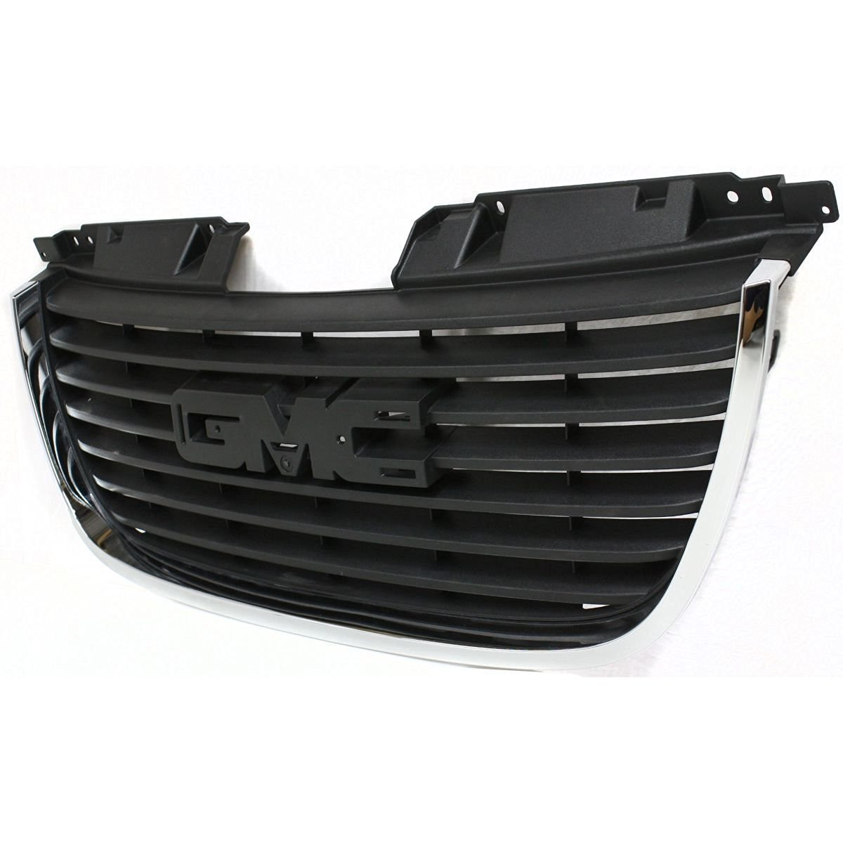 Diften 102-A1927-X01 - New Grille Assembly Grill Chrome shell black insert GMC Yukon GM1200576 25891151