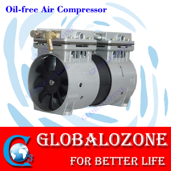 Ozonator machine spare parts GO-ZW400 oil free air compressor price