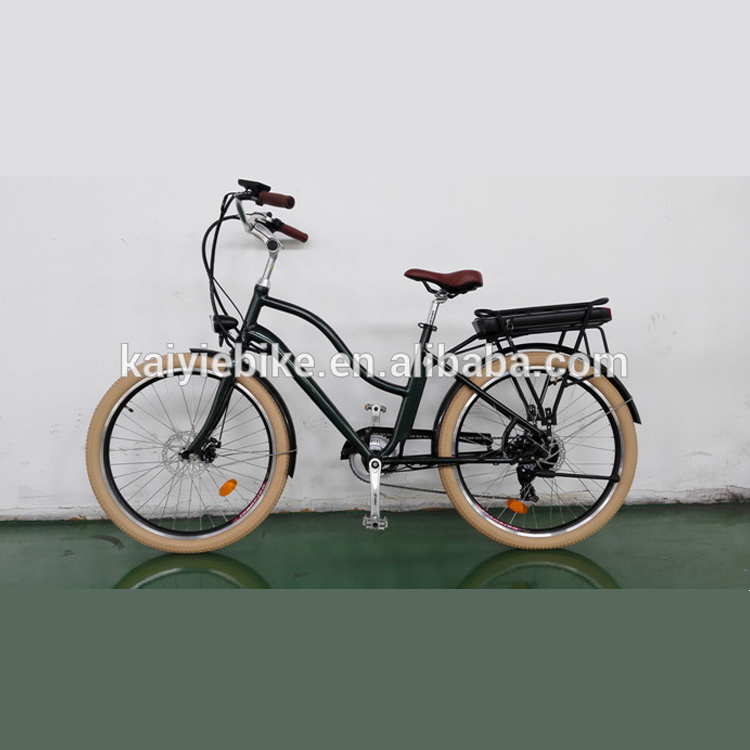 2017 hot sales beach cruiser electric bike / classical model electric bicycle / city e bike