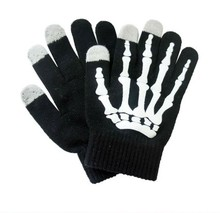 Custom knitted gloves acrylic touch screen gloves for all smart phone