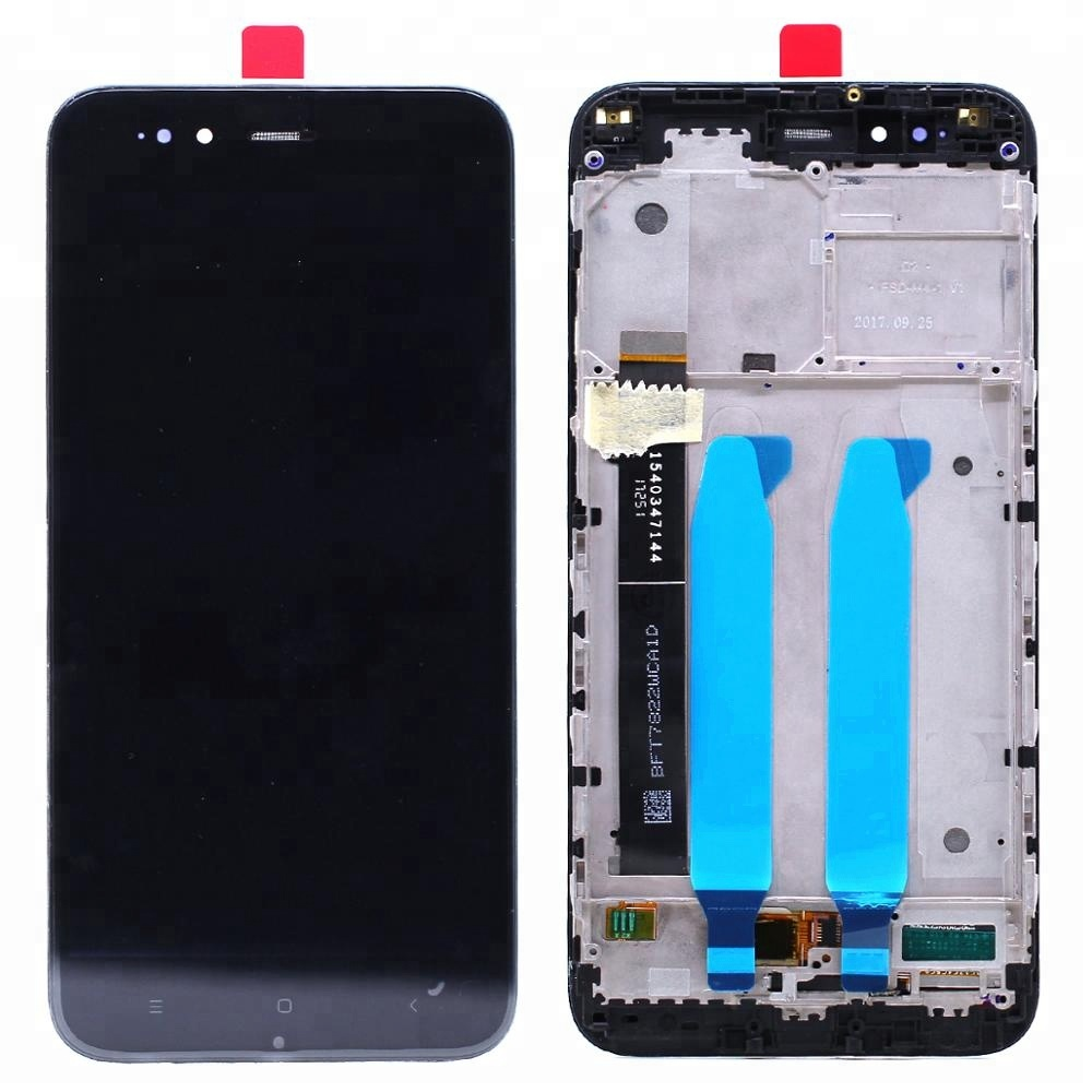 Alibaba.com / For Xiaomi A1 5X LCD Display Touch Screen Assembly With Frame Black