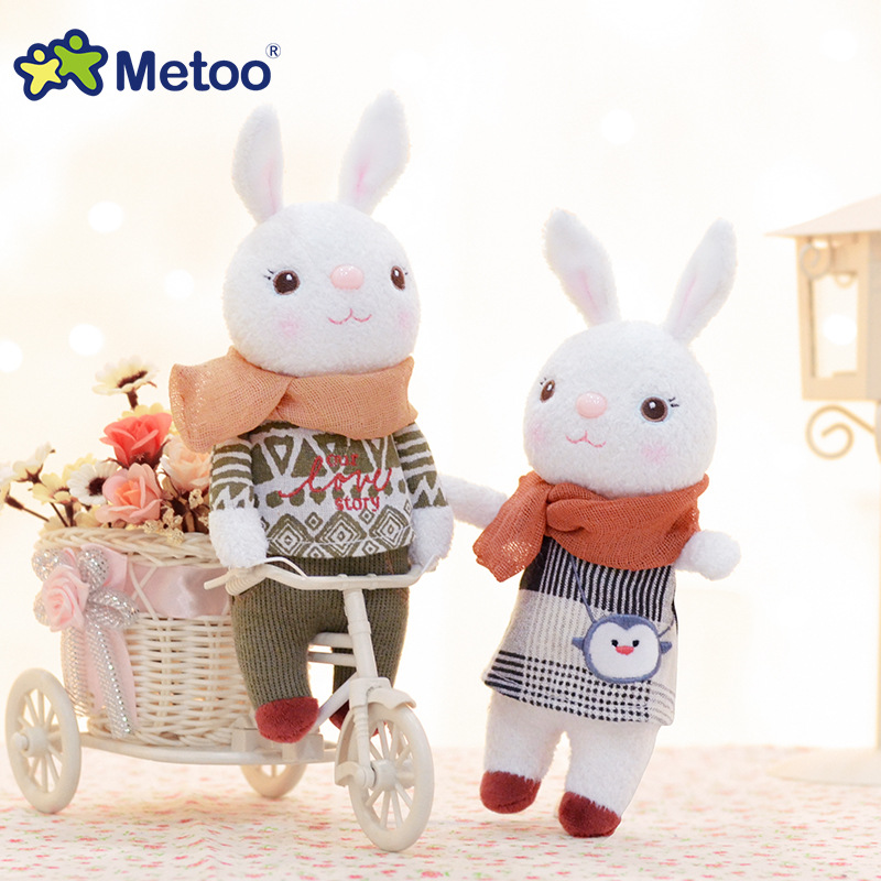 22cm Rabbits Mini Metoo <strong>Doll</strong> Lovely Stuffed Plush Toys Pendant Toys for Girls Birthday Christmas Gift