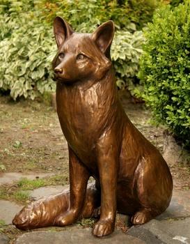 Life Size Animal Sculpture Cast Bronze Mr Fox Garden Statue Buy Fox Garden Statue Life Size Fox Garden Statue Bronze Fox Garden Statue Product On