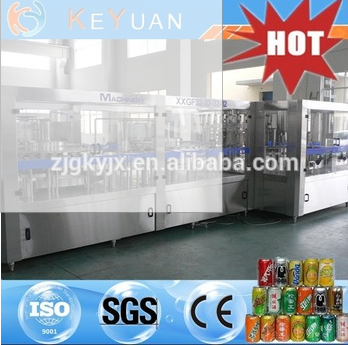 Automatic Carbonated Beverage Filling Machine For Fanta