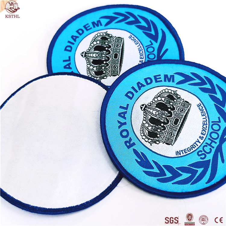 Wholesale Customized Embroidery Blank Patch Products Delta Sigma Theta 3D Puff Embroidery patch