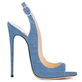 Zapatos Negocios Las En Alto Stiletto Sandalias La Tacón Buy Bombas De Para Oficina Verano Slip Abierto Mujeres uZXikP