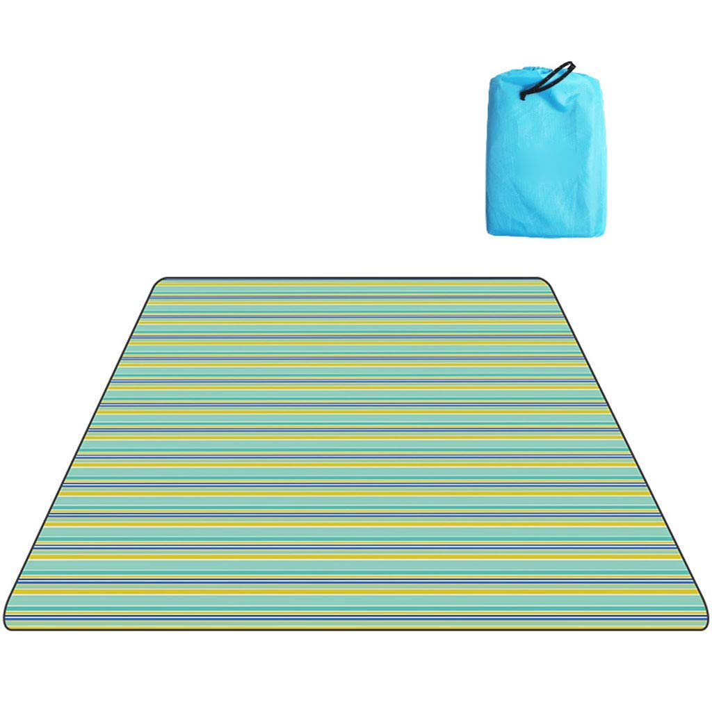 Kaiyu Travel Supplies Picnic Mat Outdoor Sleeping Mat Beach Mat Moisture Pad Oxford Cloth Mat Picnic Camping Mat 150x200cm