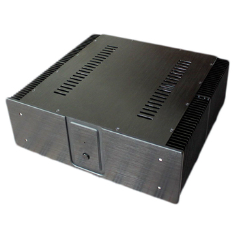 China Best Oem Supplier Cnc Machined Aluminum Chassis Amplifier Diy Amp  Enclosure Case Box Housing - Buy Machined Aluminum Chassis  Amplifier,Aluminum