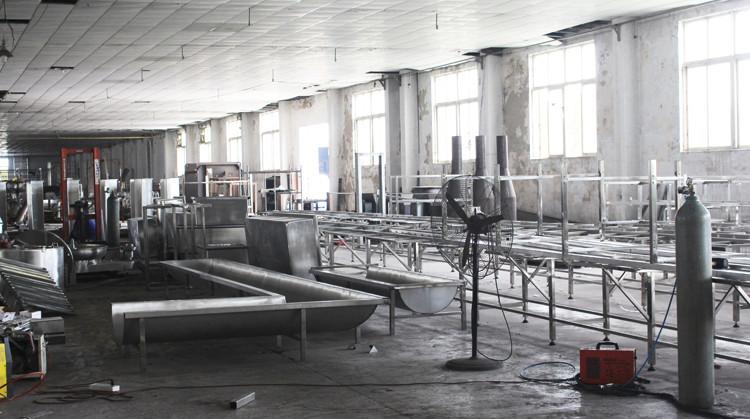 Sapi Pemotongan Mesin Membelah Mesin Halal Abattoir