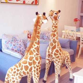 Plush Toy Real Like Zoo Big Stuffed Animals Giraffe Buy Big Stuffed