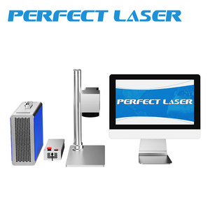 10w mini fiber laser marking machine metal battern 3d printer