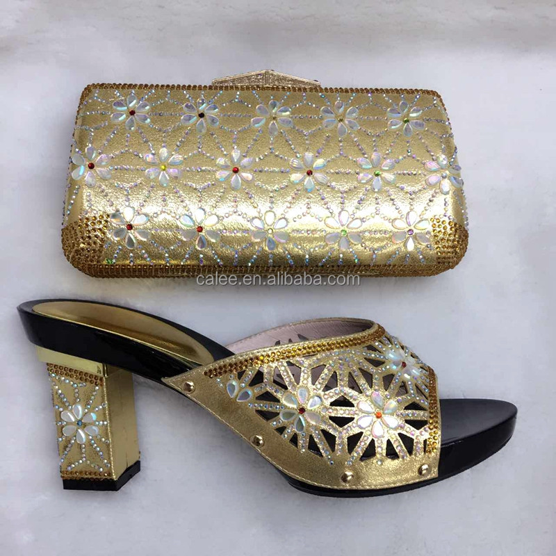 Ladies Italian For Sandal Crystal Evening Bags Matching High Party Shoes And Quality xwnvA5EERU