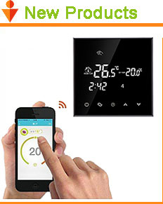 HY06WE 24V Electric Underfloor Heating Adjustable Digital Thermostat