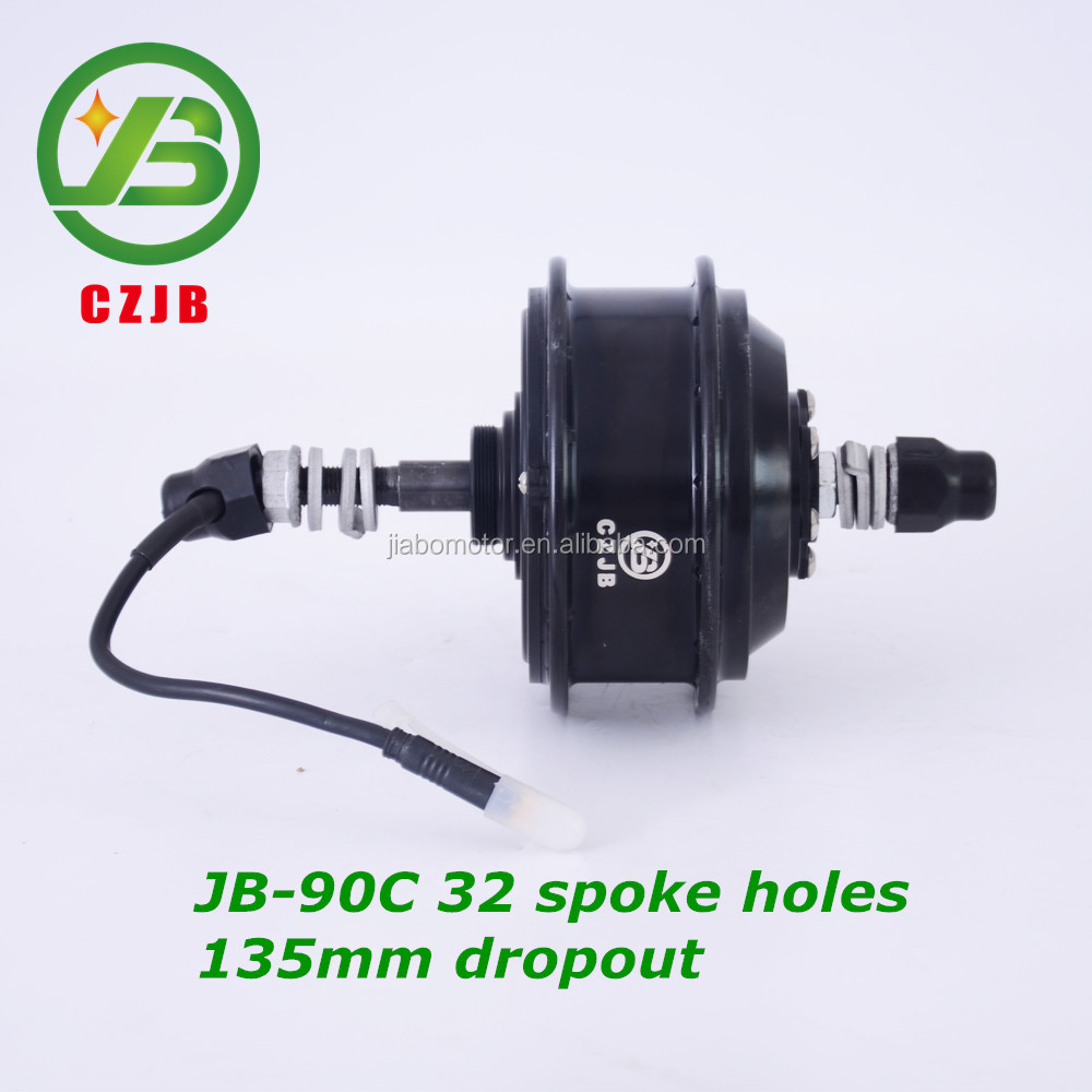 CZJB-90C 36v 250 watt electric bike rear wheel ebike brushless hub motor