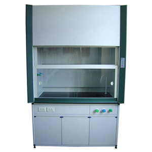 Lab furniture chemical resist fume hood for laboratory with phenolic resin worktop