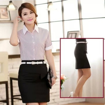 2014 summer design summer fashion korean office uniform for Office uniform design 2014