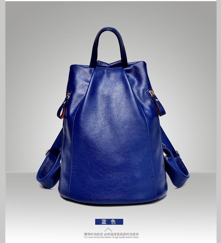 0f506382912 women genuine leather backpacks for women vintage school bag for college  girl travel bag backpack mochila santoro escolar BD 001-in Backpacks from  ...