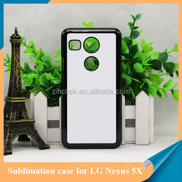 High Quality sublimation printing for LG Nexus 5X pc sublimation case