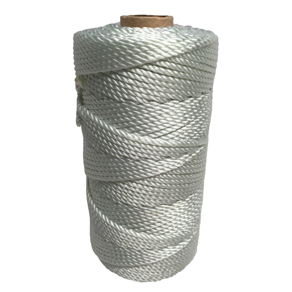 SGT KNOTS Twisted Nylon Seine Twine - #6, #7, #9, #12, #15, #18, #21, #24, #30, #36, #42, #48, #60, #72, #96, #120 (1 Pound - #48 - 399 feet)