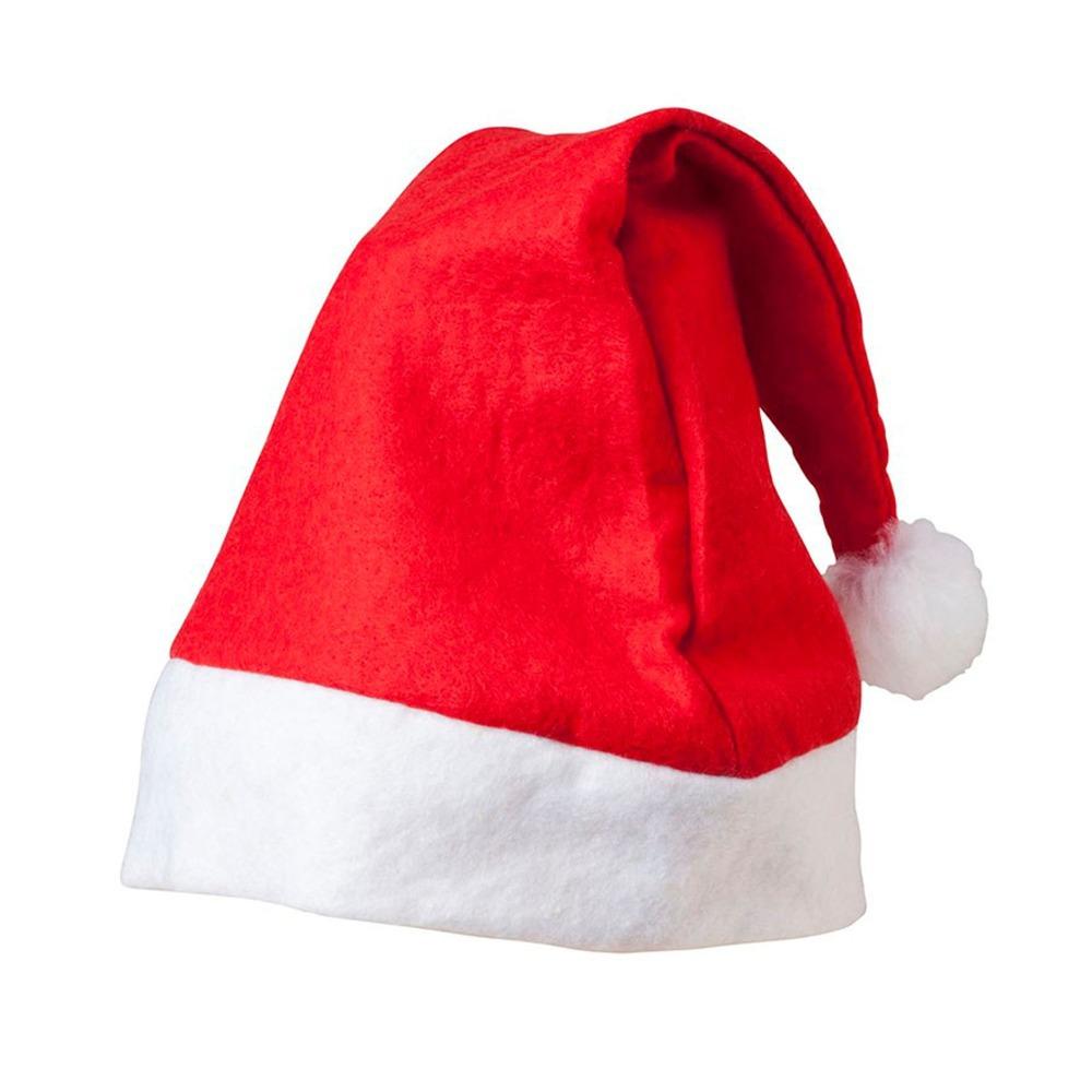 Bulk Buy Santa Hat Felt Christmas Xmas Hat Santa Claus 1 PC 27cm x40cm
