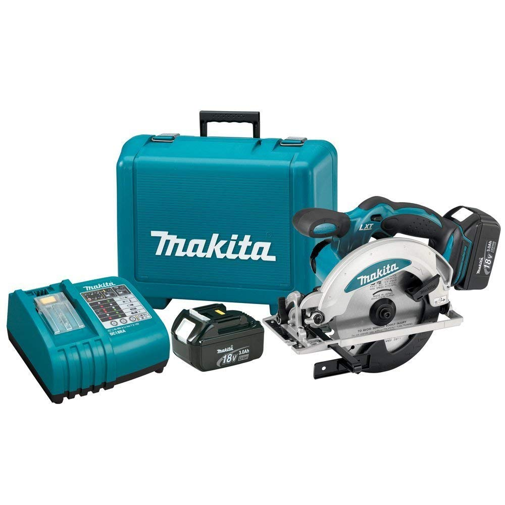 Makita BSS610 18-Volt LXT Lithium-Ion Cordless 6-1/2-Inch Circular Saw Kit (Discontinued by Manufacturer)