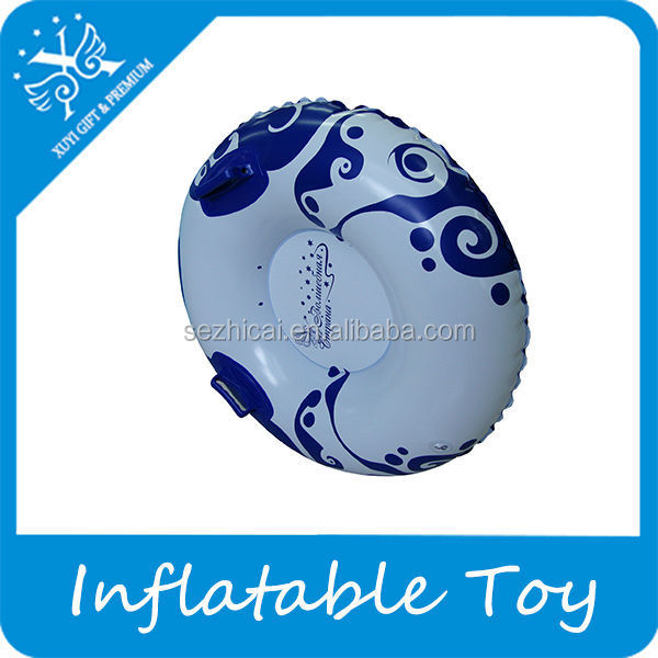 funny pvc inflatable toy snow tubing inflatable iceberg water toy
