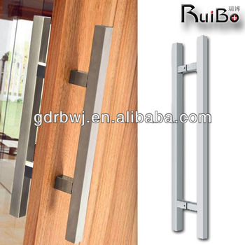 Modern Main Entrance Swing Wooden Door Handles - Buy Wooden Door ...
