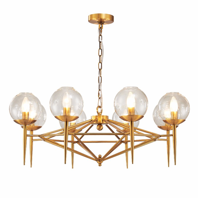 Cheap Crystal Chandelier Commercial Chandelier Imported From China